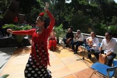 Inauguración FLOC UCAB-Flamenco-Foto Manuel Sardá
