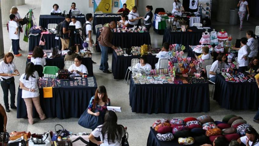 Feria de pequeños empresarios
