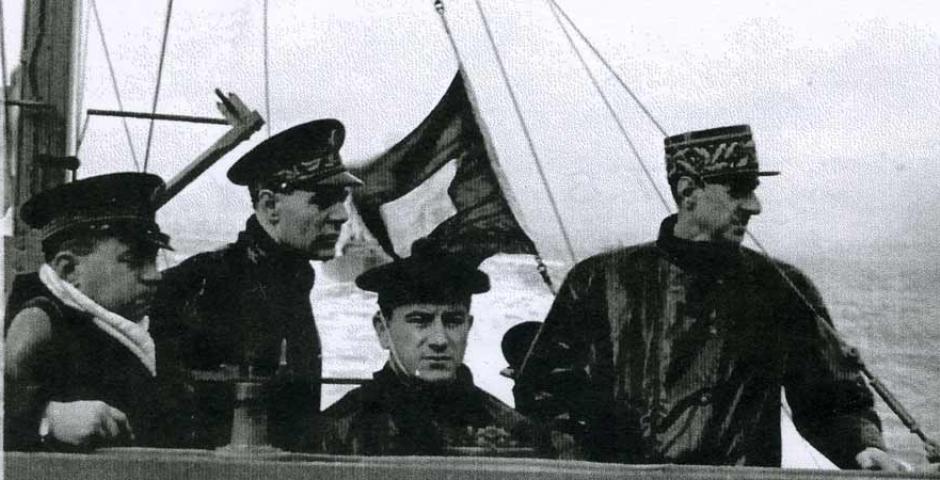Exposición de De Gaulle