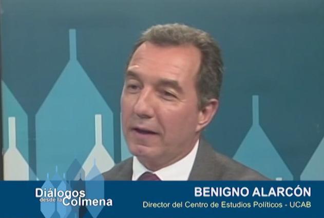 Diálogos desde la Colmena #63 Benigno Alarcón