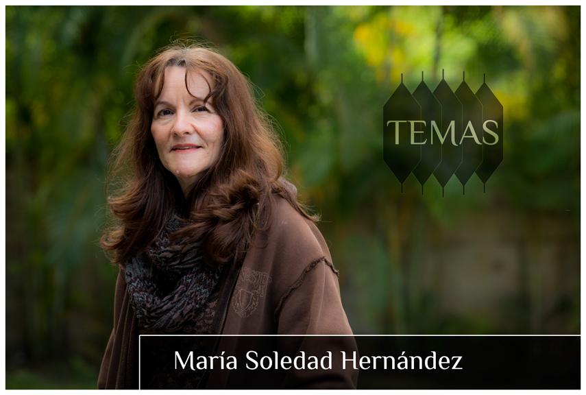 María Soledad Hernández en la serie Temas