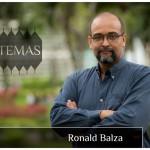 El profesor Ronald Balza en la serie Temas