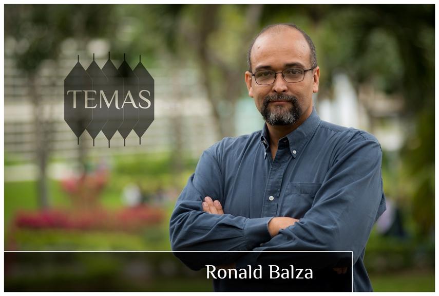 Ronald Balza en la serie Temas