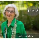 La investigadora Ruth Capriles en la serie Temas