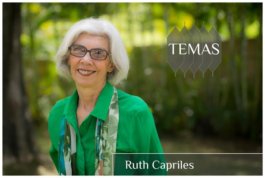 Ruth Capriles en la serie Temas