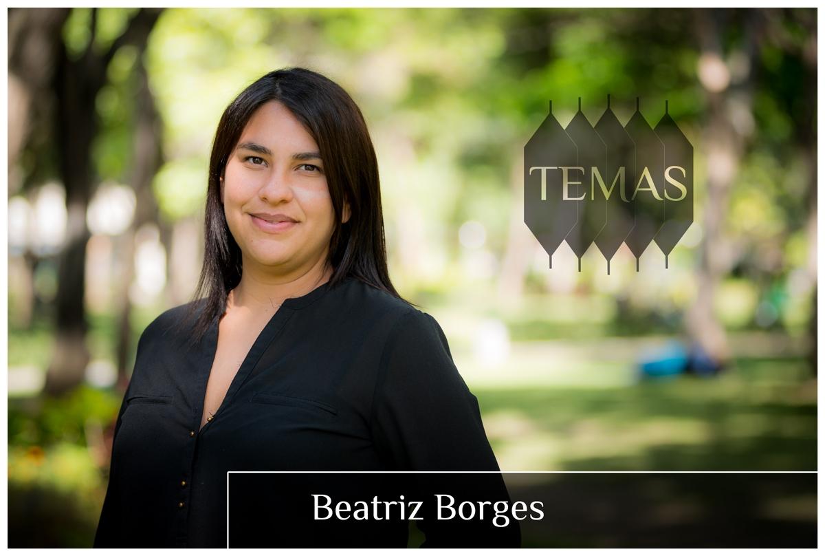 Beatriz Borges en la serie Temas