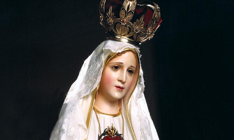 Misa en honor a la Virgen de Fátima