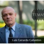 El investigador Luis Gerardo Gabaldón en la serie Temas