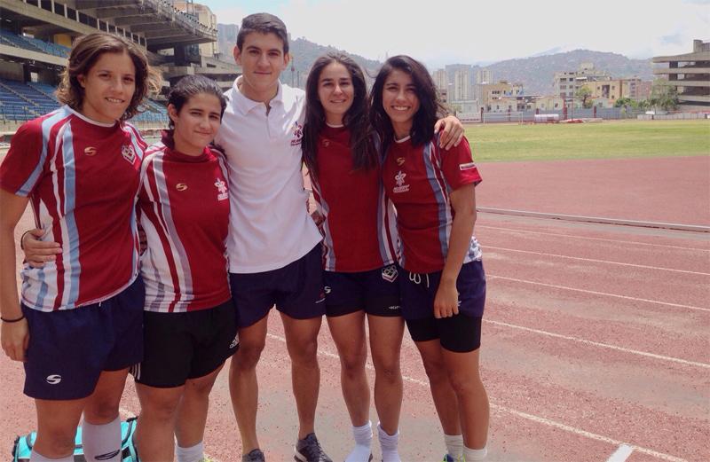 Ucabistas hacen historia en el rugby