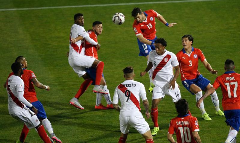 Chile 2, Perú 1. Chile 1×1 + un comentario