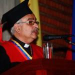 Rector Francisco José Virtuoso durante lectio brevis 2015