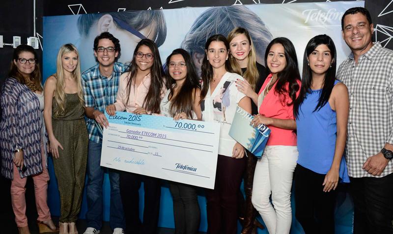 Ucabistas obtuvieron todos los premios de Etecom