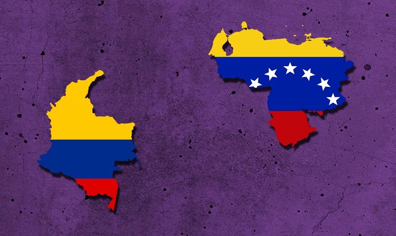 La frontera con Colombia