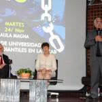 Benjamín Scharifker, Cecilia García Arocha y José Virtuoso UCAB 2015