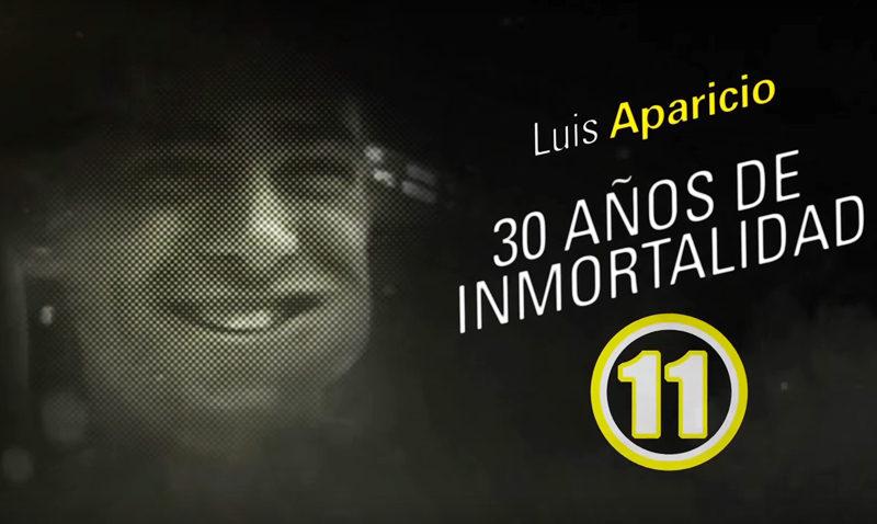 Luis Aparicio revive en el Centro Cultural
