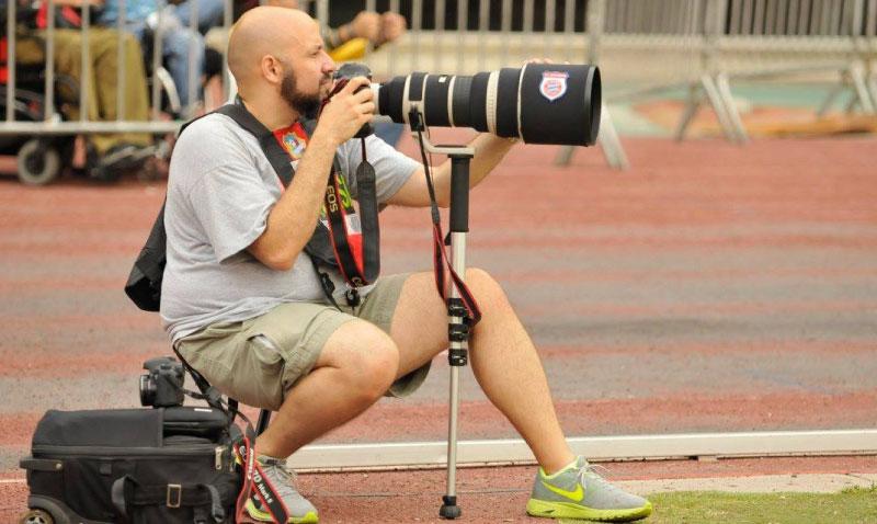 Nelson Pulido, el que convierte el deporte en imagen