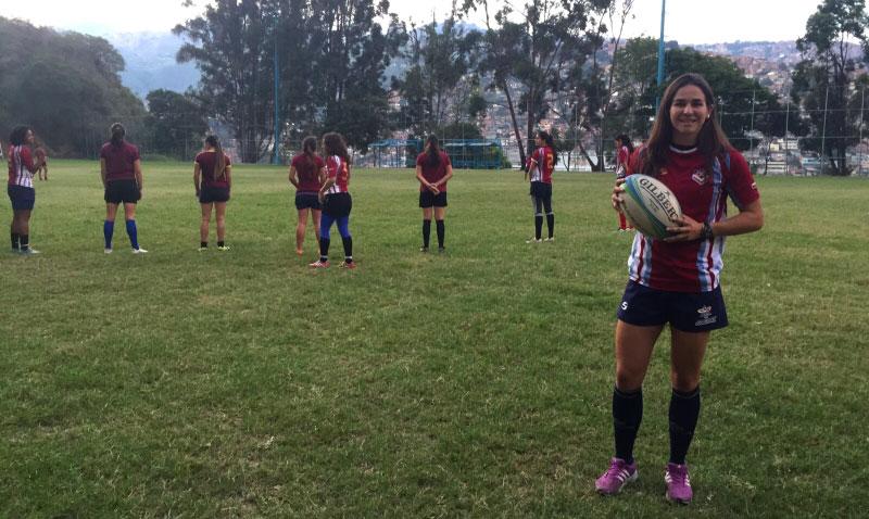 Claudia Contreras, la líder del rugby nacional