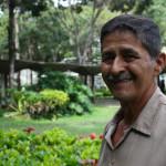 Martín Caicedo jardinero UCAB 2015