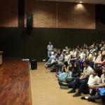 Fatima Moreira en el evento de Estudia Educación UCAB 2015.