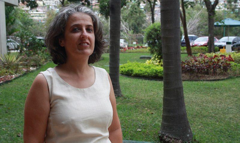 Una francesa experta en la región Guayana
