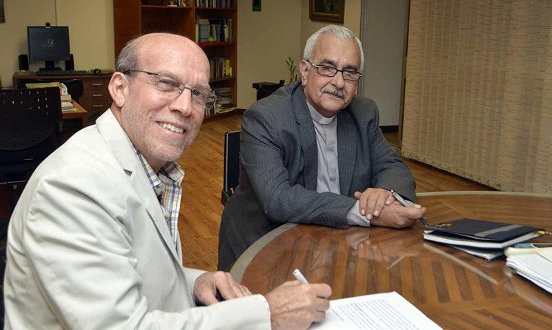 UCAB firma convenio con la Academia Wayra