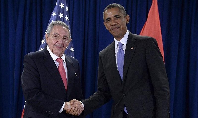 Gorbachov, Honecker, Obama y Castro