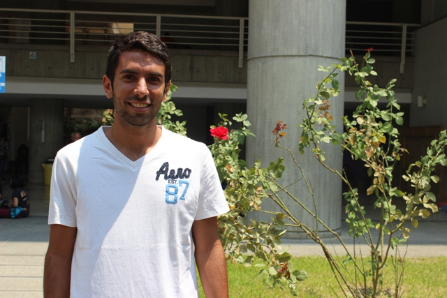 Michel Ursini, fútbol y estudios