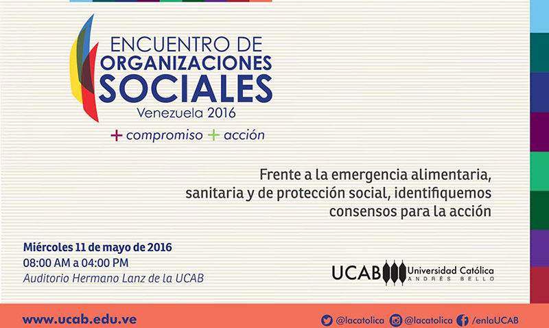Encuentro de Organizaciones Sociales 2016
