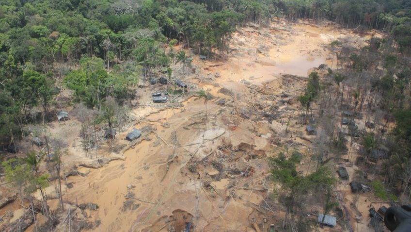 Guayana dice no al Arco Minero