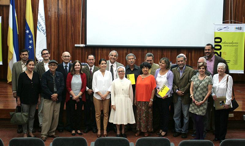 """AB UCAB Ediciones presenta """"200 educadores venezolanos"""""""