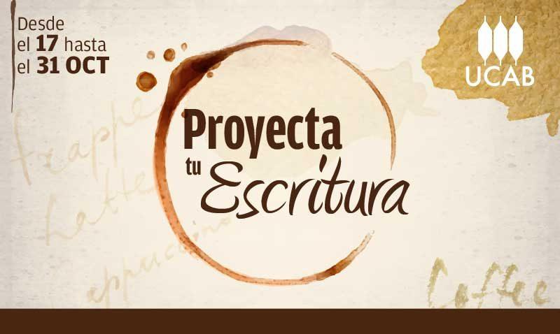 Concurso Proyecta tu Escritura en ElUcabista.com