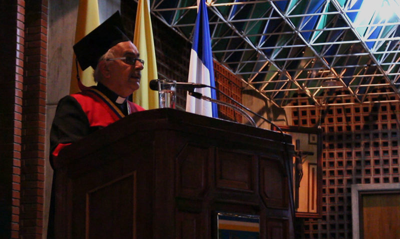 "Rector Virtuoso: ""Aquí hay Venezuela para rato"" #LectioBrevis2016"
