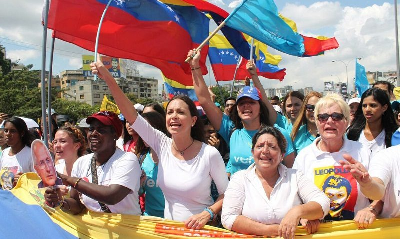La rebelión constitucional del pueblo venezolano