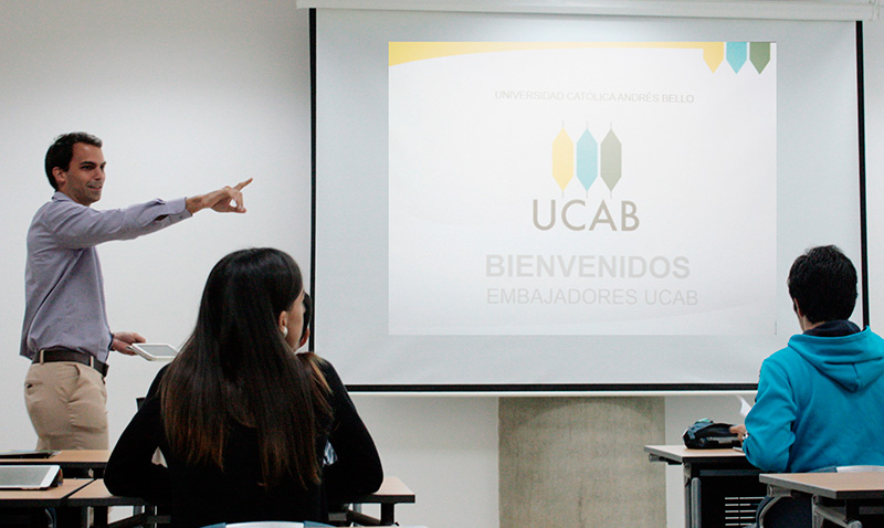 Hoy empezó el taller de Embajadores UCAB