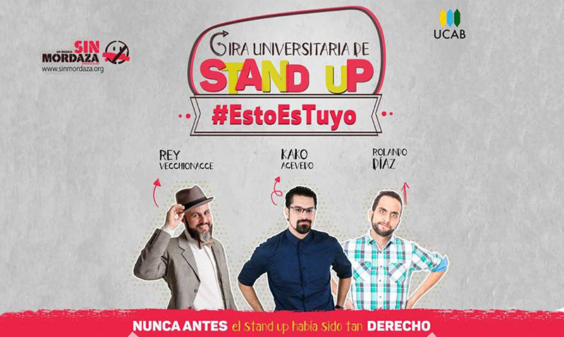 Stand up comedy #EstoEsTuyo