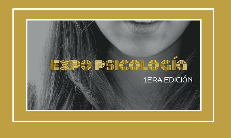Primera edición de la Expo Psicología