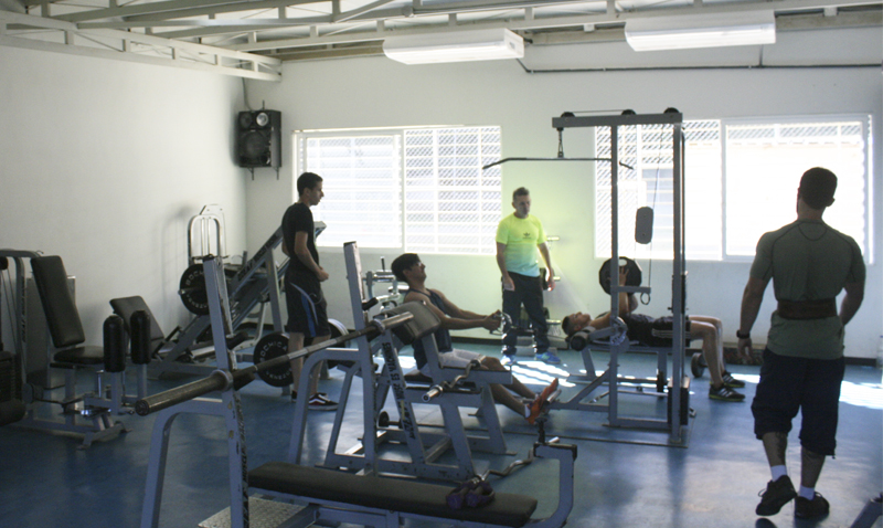 Gimnasio UCAB renueva sus espacios