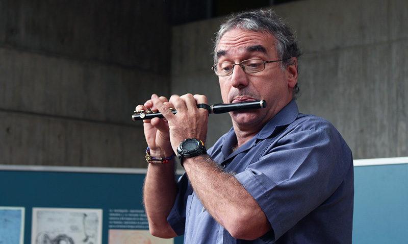 Exposición Italia fue inaugurada con música en vivo