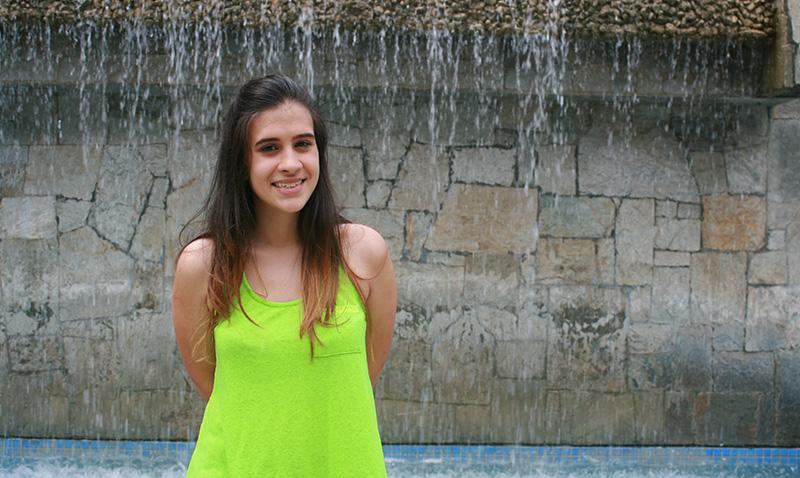 Erika Pereira proyectó su escritura
