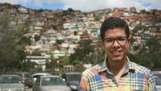 Justo Navarro y la personificación de Venezuela