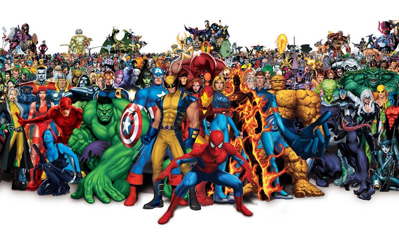 El origen e historia de Marvel