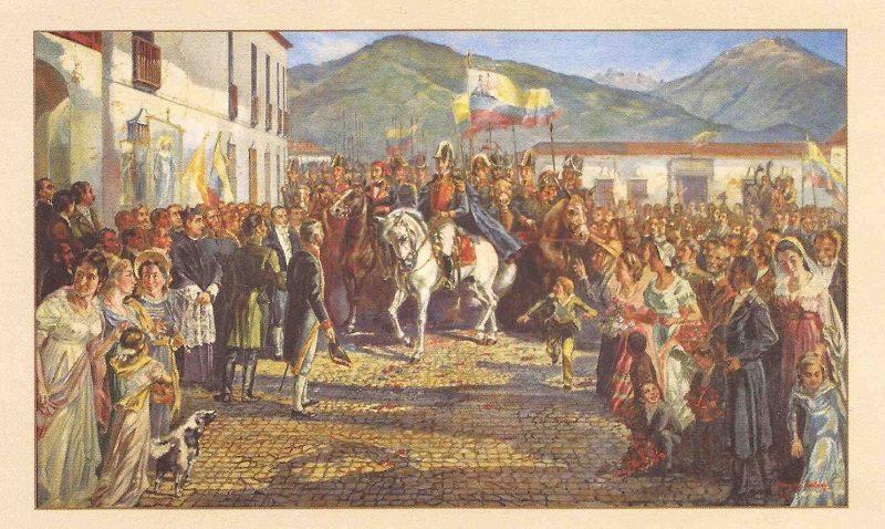 El triunfo de la libertad sobre el despotismo
