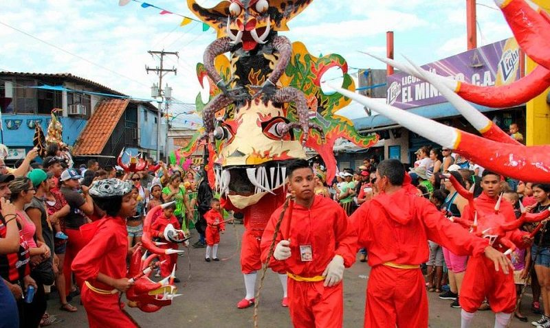 Los carnavales en Venezuela