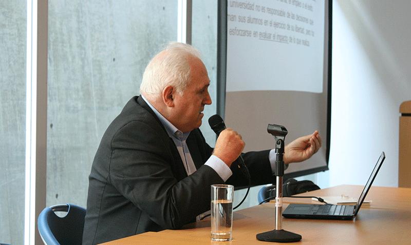 Rector de la Universidad de Deusto y el trabajo de las universidades jesuitas