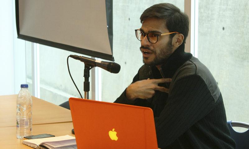 Felipe Rotjes en la Semana de la Fotografía