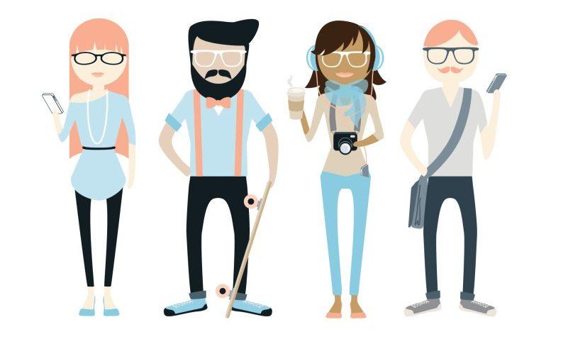 Las tres generaciones: Millennials, Baby Boomers y Generación X
