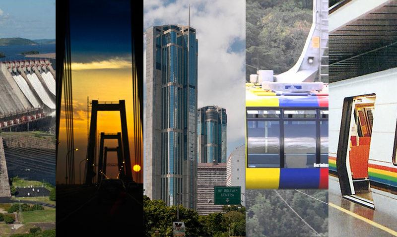 Cinco grandes obras de ingeniería venezolanas para admirar