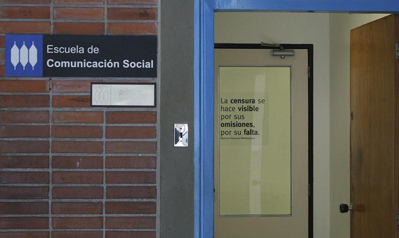 Escuela de Comunicación Social rechaza atropellos a la libertad de expresión
