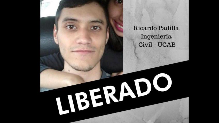 Un viacrucis por la libertad. La historia del ucabista Ricardo Padilla