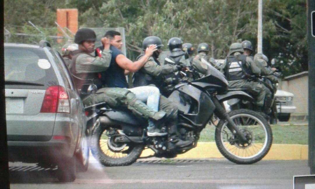 Guardia Nacional violó recinto universitario de UCAB Guayana